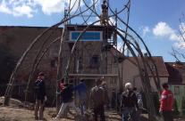 Eindrücke von der Weidenbaustelle in Apolda 2016
